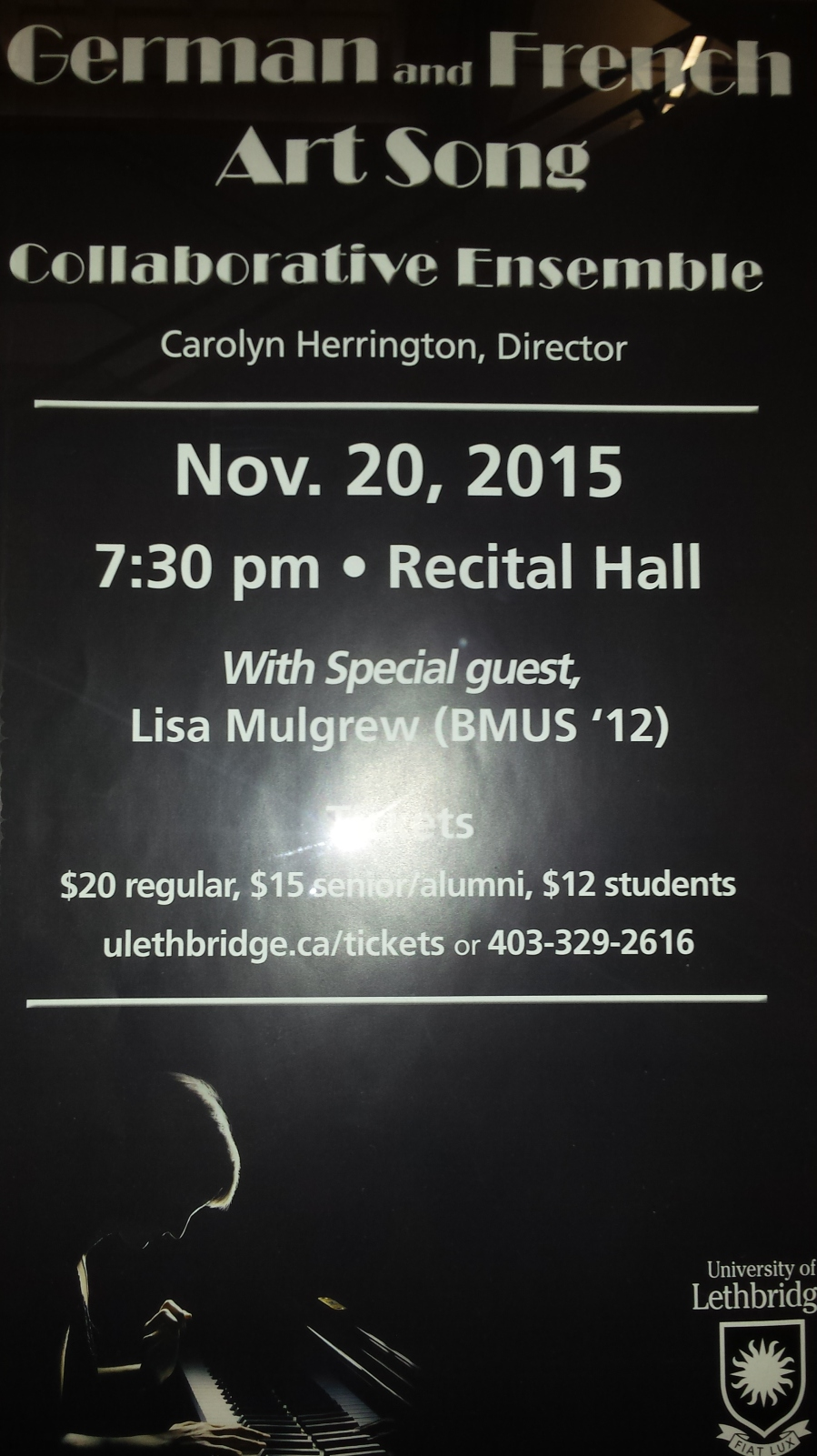 German and French Concert in Lethbridge