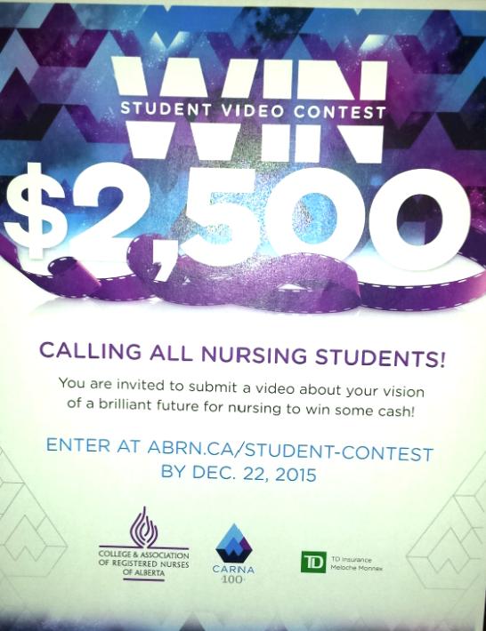 ABRN Student Contest - Alberta Nurses UofL